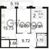 Продается квартира 2-ком 56 м² Заозерная улица 3А, метро Фрунзенская