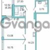 Продается квартира 3-ком 88 м² Центральная улица 9, метро Парнас