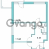 Продается квартира 2-ком 55 м² Центральная улица 9, метро Парнас