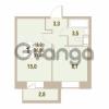 Продается квартира 1-ком 31.4 м² Областная улица 1, метро Улица Дыбенко