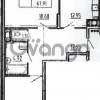 Продается квартира 2-ком 67 м² Петровский бульвар 2, метро Девяткино