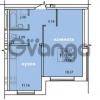 Продается квартира 1-ком 39.76 м² Голландская улица 3, метро Ладожская