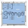 Продается квартира 1-ком 43.98 м² Голландская улица 3, метро Ладожская
