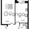 Продается квартира 1-ком 37 м² Центральная улица 83, метро Ладожская