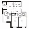 Продается квартира 3-ком 93.17 м² Ушаковская набережная 3, метро Черная речка
