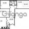 Продается квартира 3-ком 95.7 м² Кременчугская улица 9к 1, метро Площадь Восстания