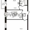Продается квартира 2-ком 49 м² Центральная улица 83, метро Ладожская
