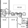 Продается квартира 3-ком 103.1 м² Кременчугская улица 9к 1, метро Площадь Восстания