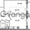 Продается квартира 1-ком 47.9 м² Кременчугская улица 9к 1, метро Площадь Восстания