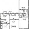 Продается квартира 3-ком 86.9 м² Кременчугская улица 9к 1, метро Площадь Восстания