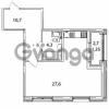 Продается квартира 1-ком 44 м² Кременчугская улица 23, метро Площадь Восстания