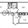 Продается квартира 2-ком 66.4 м² Кременчугская улица 23, метро Площадь Восстания