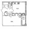 Продается квартира 1-ком 40.8 м² Кременчугская улица 23, метро Площадь Восстания