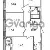 Продается квартира 3-ком 86.2 м² Кременчугская улица 23, метро Площадь Восстания