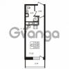 Продается квартира 1-ком 24.81 м² улица Пионерстроя 29, метро Проспект Ветеранов