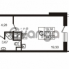 Продается квартира 1-ком 28.59 м² улица Пионерстроя 29, метро Проспект Ветеранов