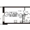 Продается квартира 1-ком 23 м² Столичная улица 1, метро Улица Дыбенко
