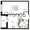 Продается квартира 1-ком 31.92 м² улица Пионерстроя 29, метро Проспект Ветеранов