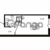 Продается квартира 1-ком 29.3 м² улица Пионерстроя 29, метро Проспект Ветеранов