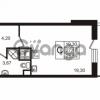 Продается квартира 1-ком 28.58 м² улица Пионерстроя 29, метро Проспект Ветеранов