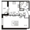 Продается квартира 1-ком 31.81 м² улица Пионерстроя 29, метро Проспект Ветеранов