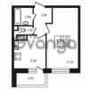 Продается квартира 1-ком 34.2 м² улица Пионерстроя 29, метро Проспект Ветеранов