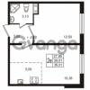 Продается квартира 1-ком 39.01 м² улица Пионерстроя 29, метро Проспект Ветеранов