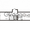 Продается квартира 1-ком 38.67 м² улица Пионерстроя 29, метро Проспект Ветеранов