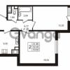 Продается квартира 2-ком 52.48 м² улица Пионерстроя 29, метро Проспект Ветеранов