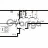 Продается квартира 2-ком 57.19 м² улица Пионерстроя 29, метро Проспект Ветеранов