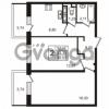 Продается квартира 2-ком 53.33 м² улица Пионерстроя 29, метро Проспект Ветеранов