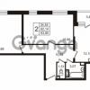 Продается квартира 2-ком 62.14 м² улица Пионерстроя 29, метро Проспект Ветеранов