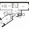 Продается квартира 3-ком 78.4 м² улица Шувалова 1, метро Девяткино