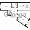 Продается квартира 3-ком 79 м² Воронцовский бульвар 4, метро Девяткино