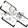 Продается квартира 2-ком 68 м² Воронцовский бульвар 4, метро Девяткино