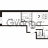 Продается квартира 2-ком 53 м² Воронцовский бульвар 4, метро Девяткино