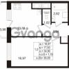 Продается квартира 1-ком 34.6 м² Воронцовский бульвар 2, метро Девяткино
