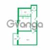 Продается квартира 1-ком 42.24 м² Колтушское шоссе 1к 3, метро Улица Дыбенко