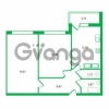 Продается квартира 2-ком 59.36 м² Колтушское шоссе 1к 3, метро Улица Дыбенко