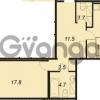 Продается квартира 1-ком 57.2 м² улица Адмирала Коновалова 2, метро Автово