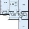 Продается квартира 3-ком 92.7 м² улица Адмирала Коновалова 2, метро Автово