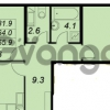 Продается квартира 2-ком 65 м² улица Адмирала Трибуца 5, метро Автово