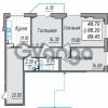 Продается квартира 3-ком 89 м² проспект Просвещения 85, метро Гражданский проспект