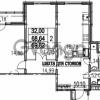 Продается квартира 2-ком 69.82 м² Парашютная улица 54, метро Комендантский проспект