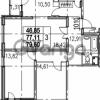 Продается квартира 3-ком 79.6 м² Парашютная улица 54, метро Комендантский проспект