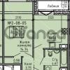 Продается квартира 1-ком 35 м² Советский проспект 24, метро Рыбацкое