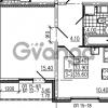 Продается квартира 1-ком 35 м² Маршала Блюхера 12АЭ, метро Лесная