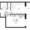 Продается квартира 1-ком 34 м² проспект Строителей 1, метро Улица Дыбенко