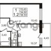 Продается квартира 1-ком 34 м² проспект Строителей 2, метро Улица Дыбенко