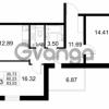 Продается квартира 2-ком 60 м² проспект Строителей 2, метро Улица Дыбенко